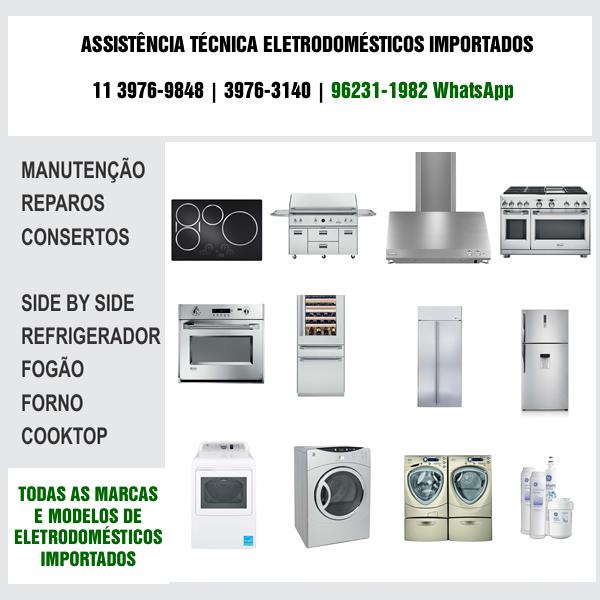 Assistência Técnica Eletrodomésticos Importados