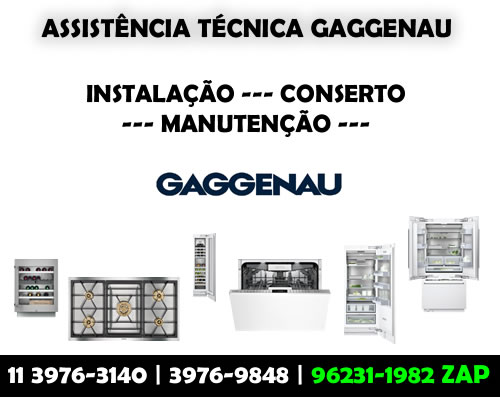 Assistência Técnica Gaggenau