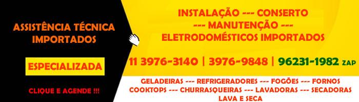 conserto eletrodomésticos importados