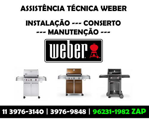 Assistência Técnica Weber
