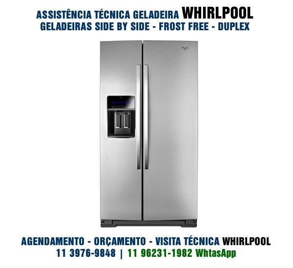 Conserto Geladeira Whirlpool
