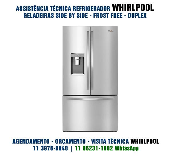 Conserto Refrigerador Whirlpool
