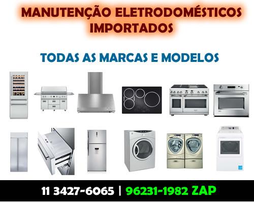 Manutenção eletrodomésticos importados