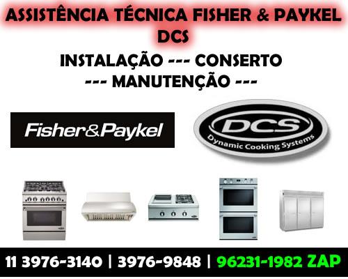 Assistência técnica Fisher Paykel