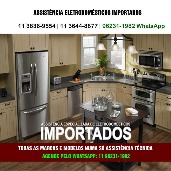 Assistência eletrodomésticos importados
